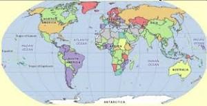 Világ térkép 1