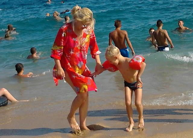 Spanyol tengerpart - Utazás busszal