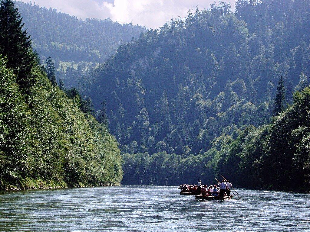 Dunajec - tutajozás