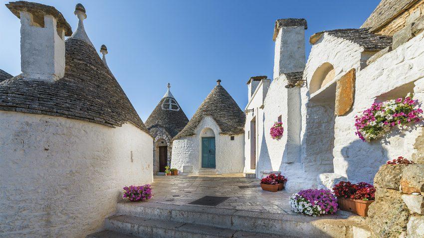 Puglia varázslatos városai, tengerpartjai - június (7 nap)  Irányár: 119.900 Ft/fő