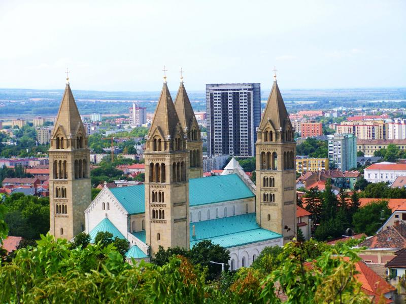 Pécs - a kultúra fővárosa - május (2 nap) Irányár: 37.900 Ft/fő